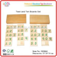 Montie-Material Spielzeug Teen & Ten Boards Set