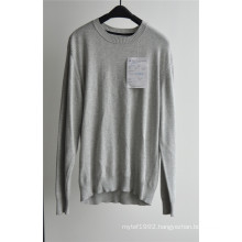 Winter Pure Colour Long Sleeve Pullover Man Sweater