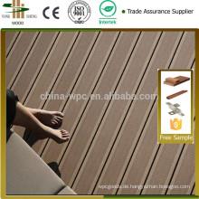 risssicher outdoor Koextrusion Wpc Terrassendielen / Fabrik von Recycling-Material wasserdicht