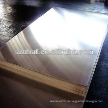Marine Grade 5052 Aluminiumblech für rückseitige Abdeckungsbrett