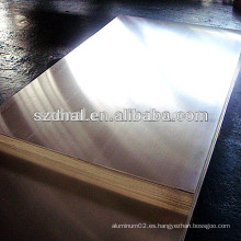 Hoja de aluminio de calidad marina 5052 para la tarjeta de la contraportada