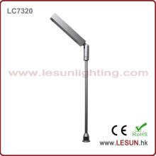 Iluminação da mostra do diodo emissor de luz da prata / preto 2W 12V para a loja de jóia LC7320