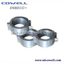 Plásticos industriales que procesan la venda del calentador de aluminio fundido