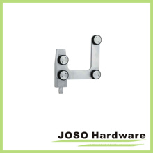 Accesorio de pivote superior de la curva de la puerta del acero inoxidable (EC001)