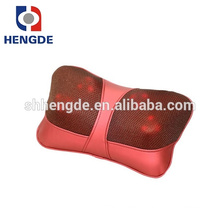 Multi-function shiatsu wooden roller back massager