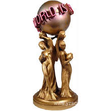 Large Size Bronze The Word Is Yours Statue