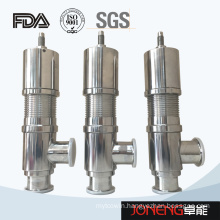 Stainless Steel Sanitary Pneumatic Safety Relief Valve (JN-SV1001)