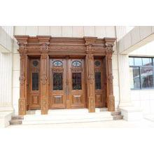Luxus-Villa Einzigartiger Design Eingang Sicherheit Kupfer Tür