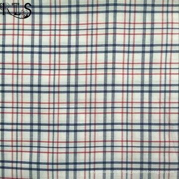 Cotton Poplin Woven Yarn Dyed Fabric for Garment Shirt/Dress Rls60-2po