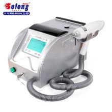 Solong Tattoo 500W Bestseller LR201 Q schaltete Nd Yag Schönheit Ausrüstung Laser Removal Tattoo