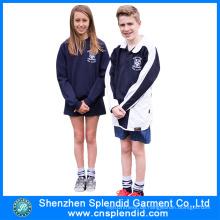 Neueste Design European Style Cotton Winter School Uniform