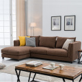 Fabric Corner Chaise Couch Reclining Sectional Sofa