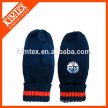2014 Acrylic open finger mittens