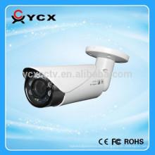 1080p CVI cámara de seguridad lente motorizada 2.8-12mm con 40m IR Distancia, 6pcs Array led, ip66 impermeable bala