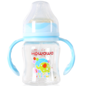 Infant Tritan Feeding Bottle With Handle 5oz