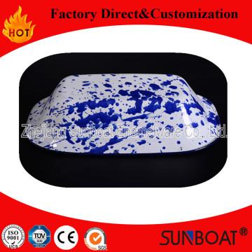 Plateau de cuisson d'émail de Sunboat / plaque de beurre de plat