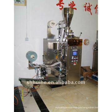 Máquina de embalaje automática de bolsita de té doble