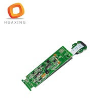 Fr4 double side pcb 2 layer blue t usb headset pcb circuit board assembly in Shenzhen