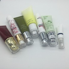 10ml 15ml 30ml 50ml 90ml 100ml Plastic Lotion Tube Cosmetic PE Tube with Airless Pump
