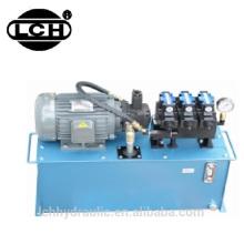 unidade do bloco de poder do sistema hidráulico do bloco de poder com estação de bomba do pistão do preço de fábrica