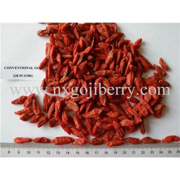 Proveedor de bayas secas de Goji