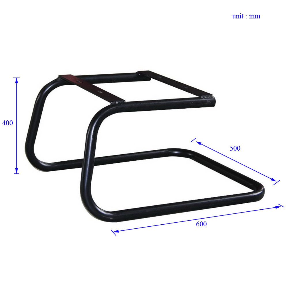 CFF0005 Steel Office Chair Frame Size