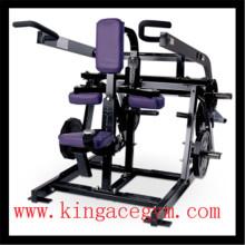 Máquina de inmersión asentada comercial del equipo de la aptitud de la gimnasia