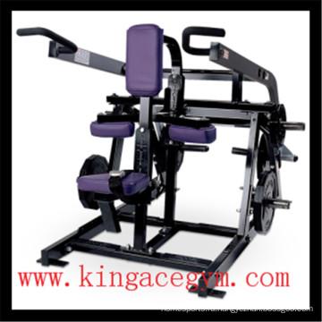 Тренажерный зал фитнес-оборудования коммерческих сидящих погружения машина