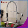 Fyeer High Quality Double Sprayer LED Kitchen Sink Faucet