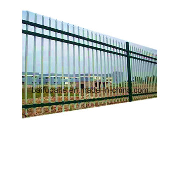 Outdoor Metal Fence HDG Iron Fence with Sharp End