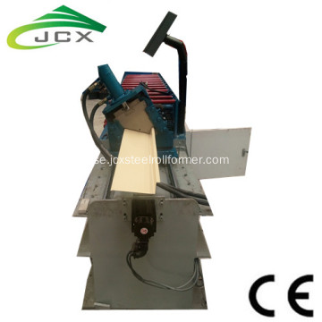 Corrugated Roof Flashing Machine