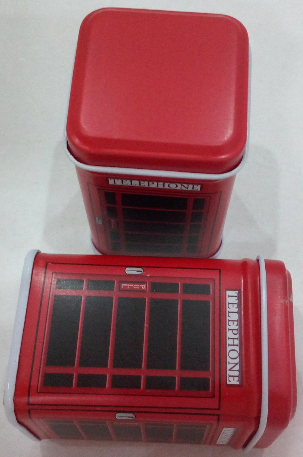 Rectangular Pill Tin mini box