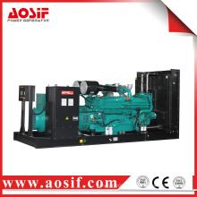 China 1100kw / 1375kva verwendet Generator schalldichte KTA50-G3 Diesel-Generator