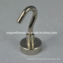 High Quality Nickel Coated Neodymium Magnetic Hook