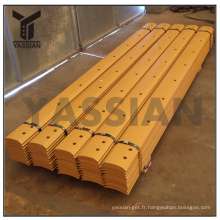 7T-1632 High Carbon Curved Cutting Edge China Motor Grader Curved Blade Factory