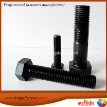 Factory For for Supply Hexagonal Bolts, Hex Cap Bolts, Heavy Hex Bolts, Hex Machine Bolts, Din 6914 Structural Bolts, to Your Requirements 1/2x3  SAE J429 Gr.8 Black Oxide Hex Cap Screw supply to Turks and Caicos Islands Importers