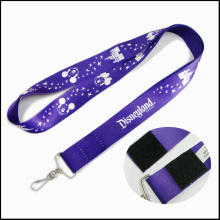 Polyester Discount Price Dye Sublimation / Wärmeübertragung Logo Custom Lanyard für Kinder