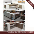 Hx-Et14010 1.8 Meter Grey L Shape MFC Manager Office Desk