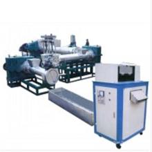 Línea de producción de máquina de granuladora plástica de tres etapas