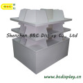 Alta calidad con el soporte de exhibición vendedor caliente del contador de cartón (B & C-C001)