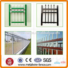 decorative zinc steel guardrail