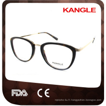Haute qualité plus nouveau design hot seller Mode acétate cadre et acétate lunettes lunettes