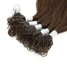 Professional Manufacturer Double Drawn Invisible Knot Thread Brazilian Human Remy Extension Virgin Hair