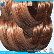ASTM 304 0,2 mm en acier inoxydable Copper Coated Prix par mètre avec échantillon gratuit