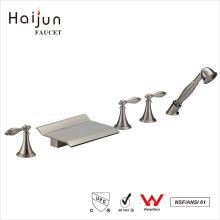 Haijun Factory Direct cUpc Triple Mango Baño Grifería De Ducha Termostática