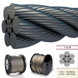 ASTM 316 Steel Wire Rope