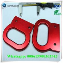 Custom Aluminium Alloy Die Casting Anodização Handle Estilo de algemas
