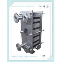 Ganze Stailess Stahldichtung Plattenwärmetauscher für Getränkeheizung & Kühlung