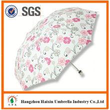 Dernière auto usine gros Parasol impression Logo pliage parapluie
