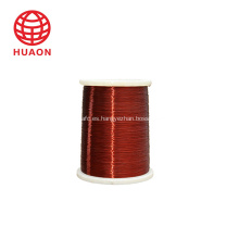 cables de cobre con aislamiento eléctrico que enrollan los cables